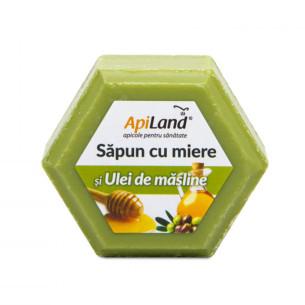Săpun cu miere și ulei de măsline