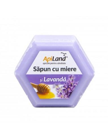 Săpun cu miere și lavandă