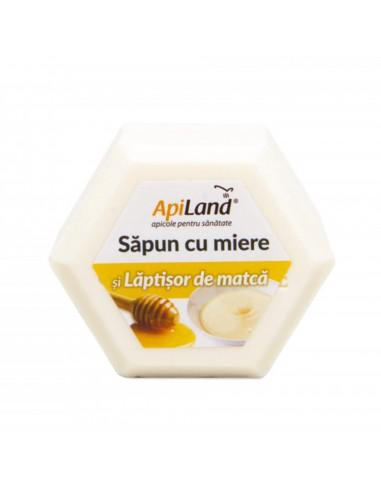 Sapun cu miere ?i lapti?or de matca