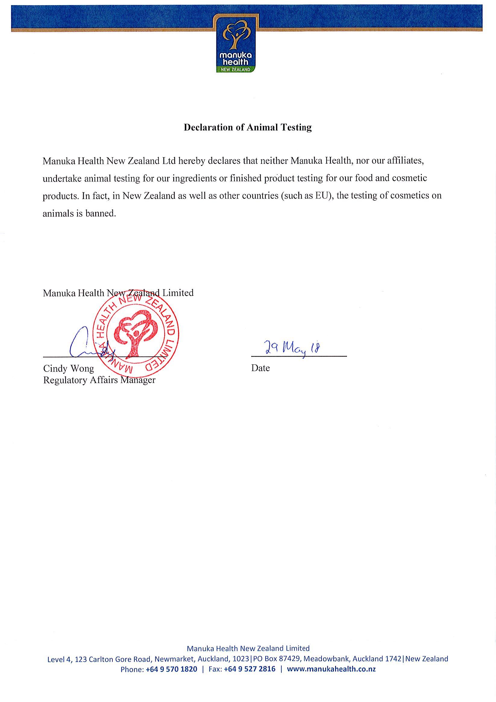 Declaratie-Manuka-Health-despre-testarea-produselor-pe-animale