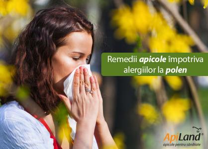 Desensibilizare în cazul alergiei la polen - remedii apicole